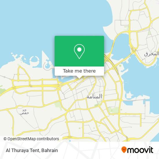 Al Thuraya Tent map
