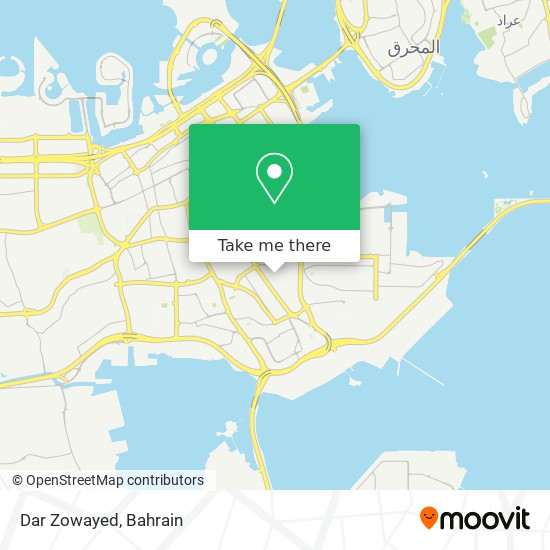 Dar Zowayed map