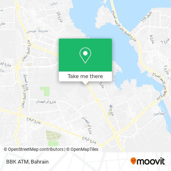 BBK ATM map