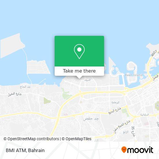 BMI ATM map