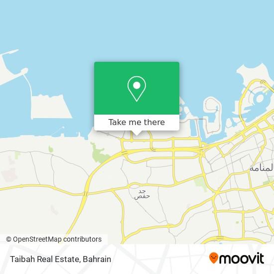 Taibah Real Estate map