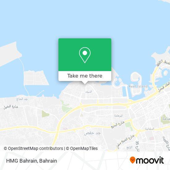 HMG Bahrain map
