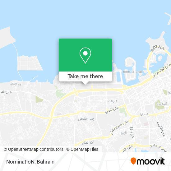 NominatioN map