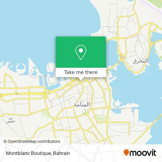 Montblanc Boutique map