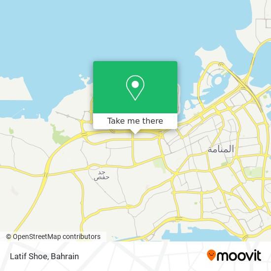 Latif Shoe map