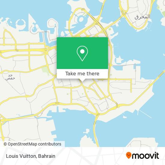 Louis Vuitton map