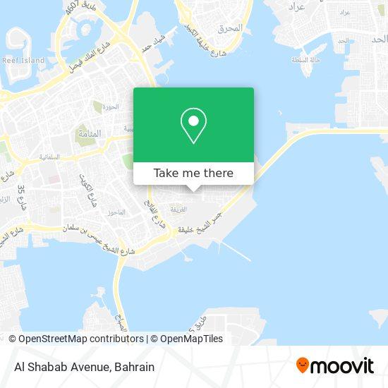 Al Shabab Avenue map
