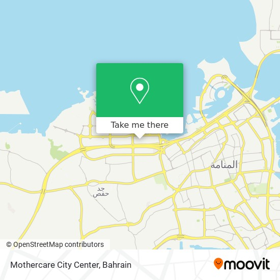 Mothercare City Center map