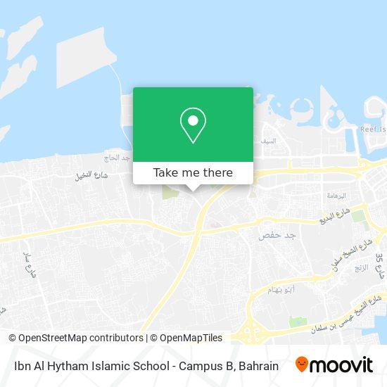 Ibn Al Hytham Islamic School - Campus B map