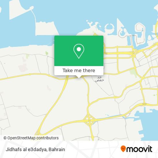 Jidhafs al e3dadya map