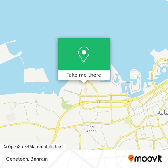 Genetech map