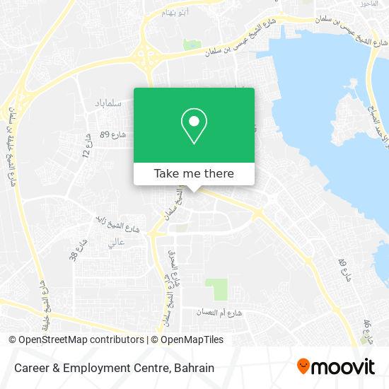 Career & Employment Centre map