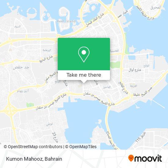 Kumon Mahooz map