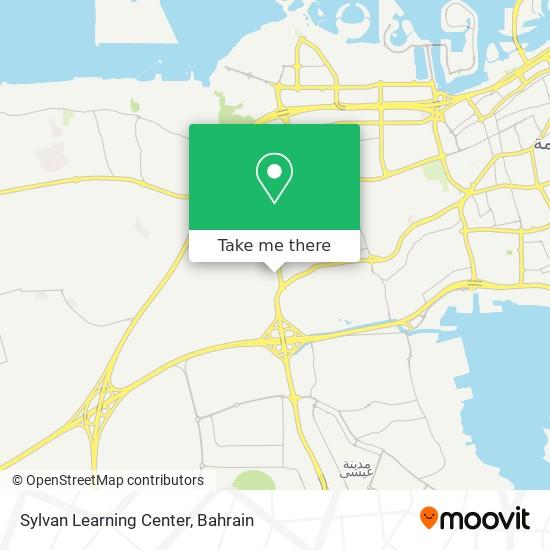 Sylvan Learning Center map