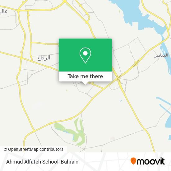 Ahmad Alfateh School map