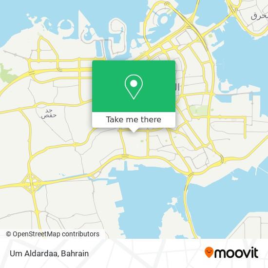 Um Aldardaa map
