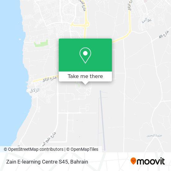 Zain E-learning Centre S45 map