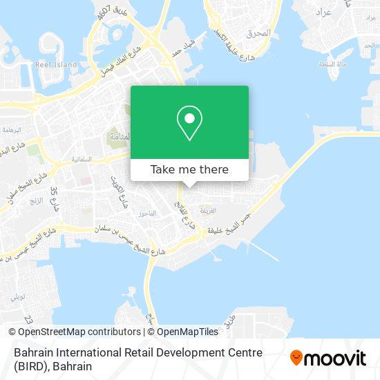 Bahrain International Retail Development Centre (BIRD) map