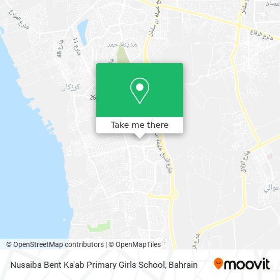 Nusaiba Bent Ka'ab Primary Girls School map