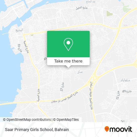 Saar Primary Girls School map