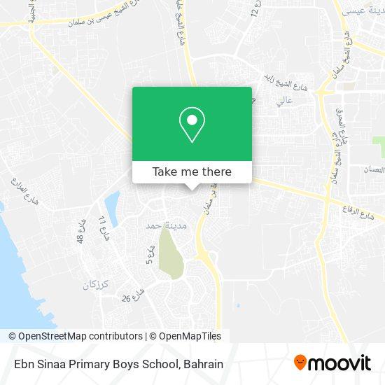 Ebn Sinaa Primary Boys School map