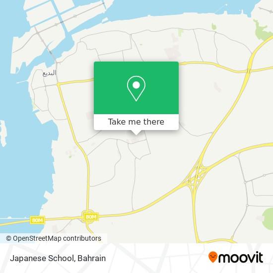 Japanese School map