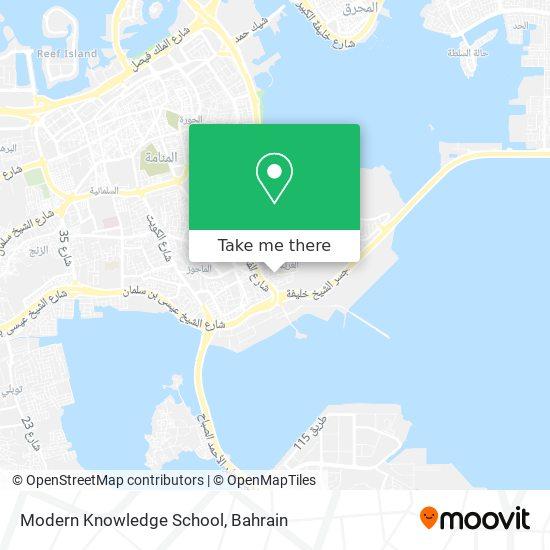 Modern Knowledge School map