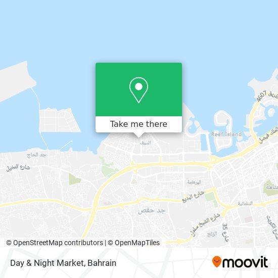 Day & Night Market map