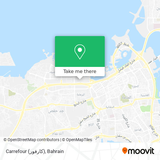 Carrefour (كارفور) map