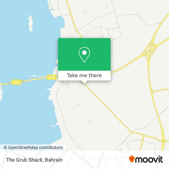 The Grub Shack map