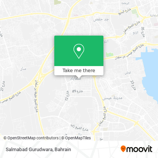 Salmabad Gurudwara map