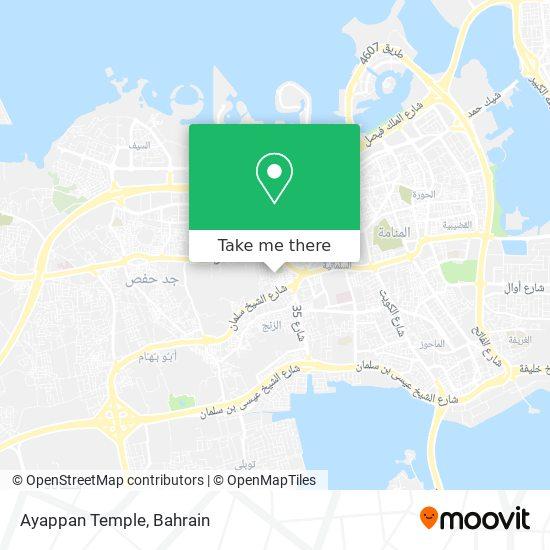 Ayappan Temple map