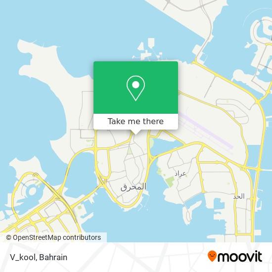 V_kool map