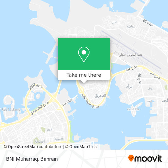 BNI Muharraq map