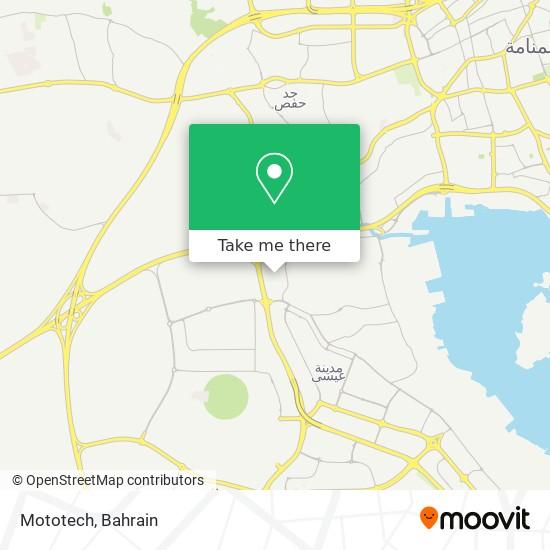 Mototech map