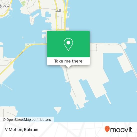 V Motion map
