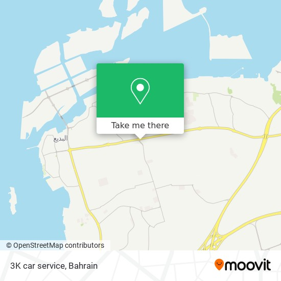 3K car service map