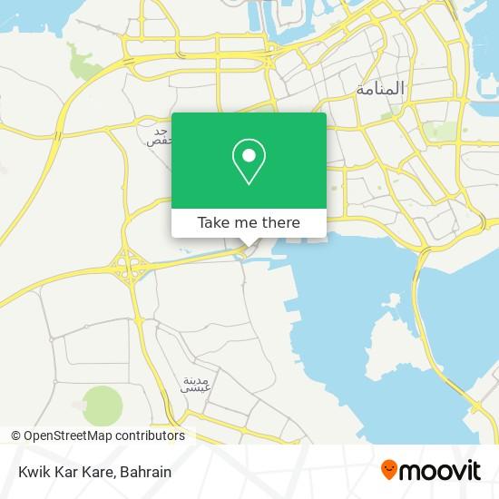 Kwik Kar Kare map