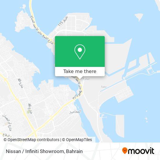 Nissan / Infiniti Showroom map