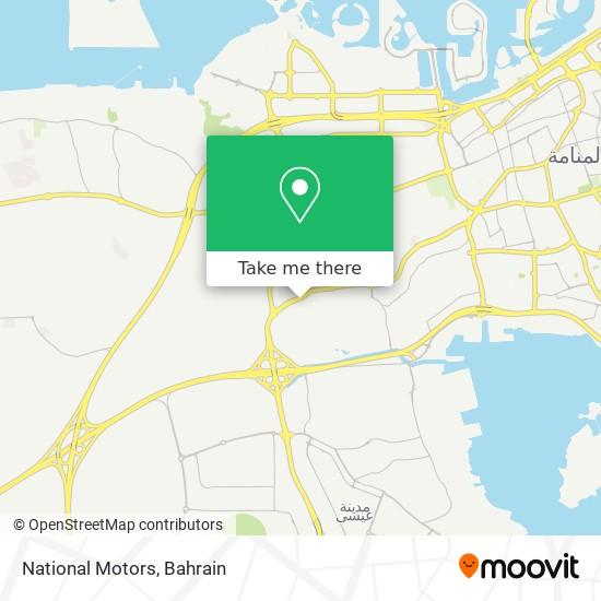 National Motors map