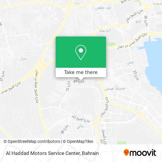 Al Haddad Motors Service Center map
