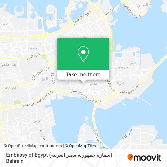 Embassy of Egypt (سفارة جمهورية مصر العربية) map