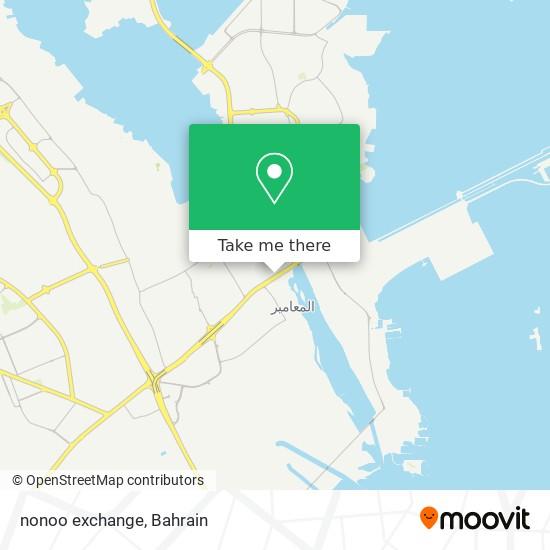 nonoo exchange map
