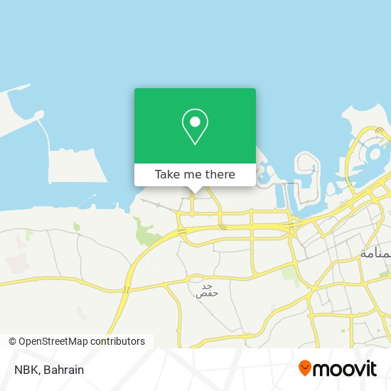 NBK map