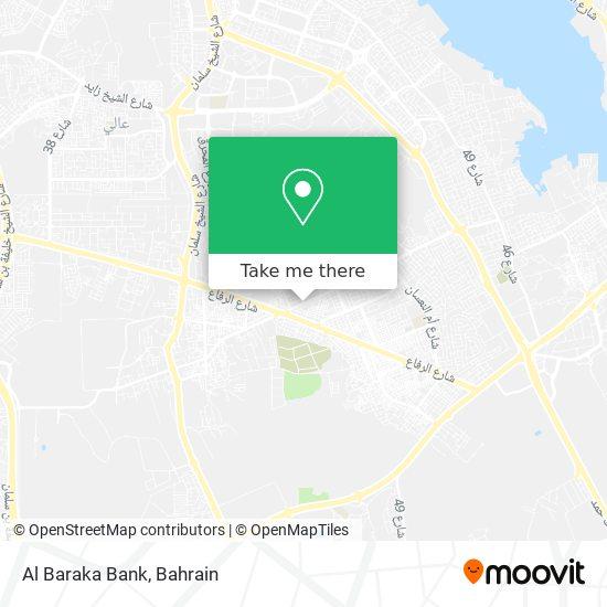 Al Baraka Bank map