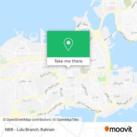 NBB - Lulu Branch map