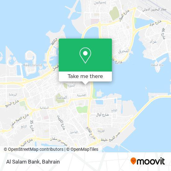 Al Salam Bank map