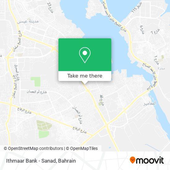 Ithmaar Bank - Sanad map