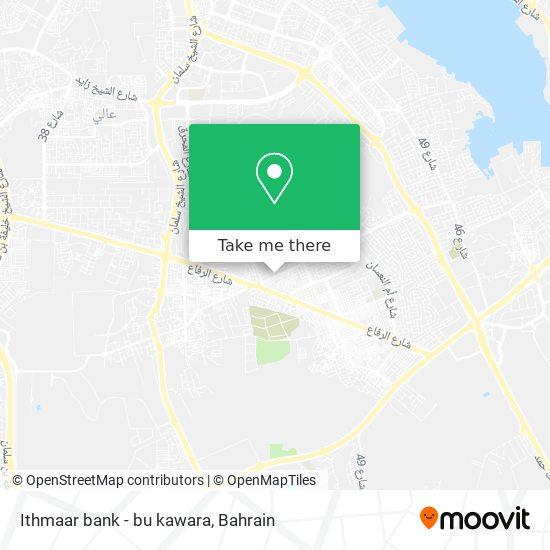 Ithmaar bank - bu kawara map