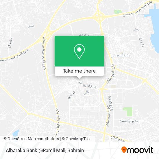 Albaraka Bank @Ramli Mall map